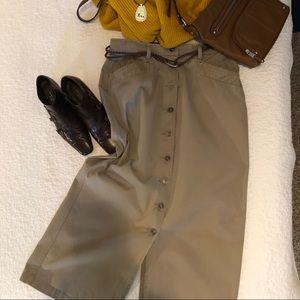Skirt-Christopher&Banks-khaki-12